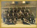 Fotografie der 16. Korporalschaft I. Rekr. Dep. Infanterie-Regiment 63
