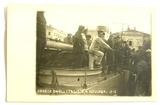 Italienische Truppen bei der Landung in Capodistria, Nov. 1918