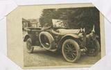 Postkarte an Franz Wächter und Foto