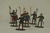 Sieben Zinnfiguren