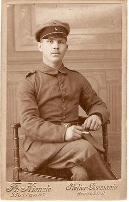 an Käthe Schenk geb. Mangold, Foto von Schwager Jakob Eugen Schenk 1916.jpg