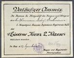 Militärische Dokumente u.a. von Dietrich Diekmann
