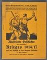 Kriegschroniken, Zeitungsausschnitte mit u.a. einer Todesanzeige von Rudolf Niedermeyer und Gedichte