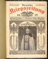 Deutsche Kriegszeitung von 1915