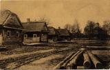 Feldpostkarte von Ludwig Katterbach an Familie Moser (Aachen): Bild des ukrainischen Dorfes Duboj