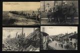 Feldpostkarten  Soldaten - Zerstörte Häuser
