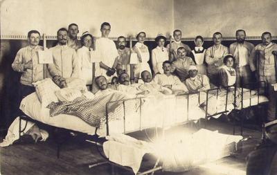 PK aus dem Lazarett Oppeln vom 9.11.1915.bmp