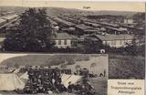 Postkarte - Gruss vom Truppenübungsplatz Münsingen
