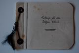Abschrift des Nachrufs auf den in Frankreich gefallenen Soldaten Oswin Arthur Ellrich während der Trauerfeier in Paunsdorf am 17.03.1916