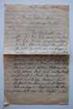 Feldpostbrief Oswin Arthur Ellrich Weihnachten 1915