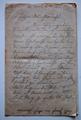 Feldpostbrief von Oswin Arthur Ellrich mit Schilderung der Kriegserlebnisse im Januar 1915 in Südholland / Nordfrankreich