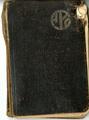 Tagebuch und Kalender Hans Block