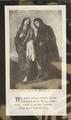 Sammlung von Sterbebildern aus der Region Amberg