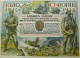 Kriegschronik von Johann Koller