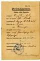 Personalausweis Otto Block