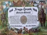 Kriegschronik von Johann Schmid
