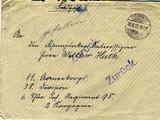Briefe an Walther Huth von seinen Eltern