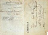 Feldpostbrief von Sebastian Wolker