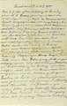 Brief von Georg Klotz aus dem Trommelfeuer auf der La Foile Höhe