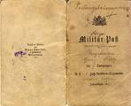 Georg Klotz Militärpass