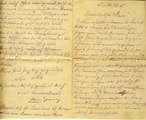 Brief von Georg Klotz an seine Frau Rosa