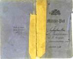 Carl Punzmann Militärpass