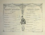 Programme und Briefe aus dem Kriegsgefangenenlager Amberg
