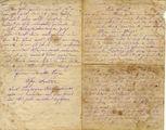 Foto und Brief von Georg Luber