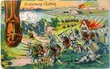 Postkarten Portrait Hindenburg