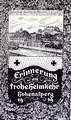 "Postkarte ""Erinnerung an frohe Heimkehr Hohenasperg 1919"""