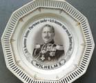 Zierteller mit Porträt von Kaiser Wilhelm II.