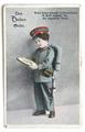 Postkarte von Johann Pilhofer an Babettel Pilhofer