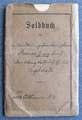 Soldbuch von Georg Leonhard Renner