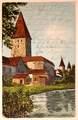 Feldpostkarte Michael Böhm an Rudolf Söllner