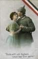 Postkarte an Margarete Schweiger