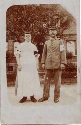 Foto Karl Fromme und seine Frau Sophie.