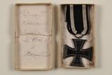 Décorations allemandes et autrichiennes de Edmond Nouviaire (mort, le 10 oct. 1918)