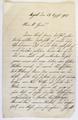 Brief von Rosa Stadlbauer an Hans Stadlbauer
