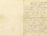 Brief von Hans Kotzbauer an seine Eltern