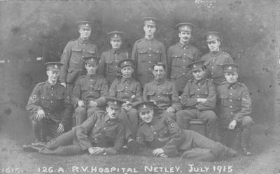 R. V. Hospital Netley July 1915