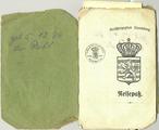 Deux passeports ayant appartenu à Jean-Baptiste Gratia, ingénieur luxembourgeois