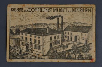 Caserne allemande à Diekirch