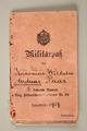 Papiers militaires de Wilhelm Andreas Paas