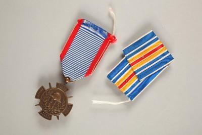 Blessure de Jean Kemp, soldat luxembourgeois, enrôlé dans la Légion étrangère