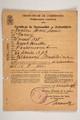 Militärpass und Fotos von Henri Louis Janin