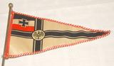 Reichskriegsflagge als Wimpel
