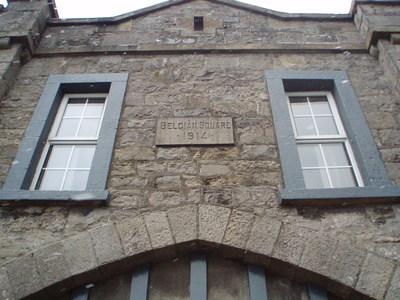 Date stone, Belgium Square 1914
