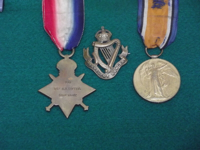 Private Gerald Arthur Coffey, Connaught Rangers