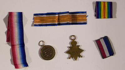 Medals of Skelly Brothers from Dublin