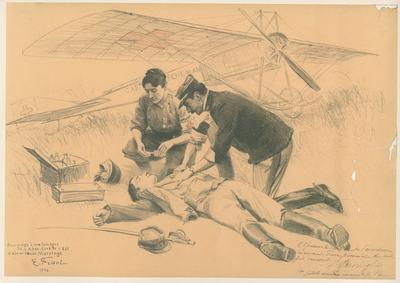 Correspondance de guerre et médailles de guerre (documents) du soldat Valère Riffaud